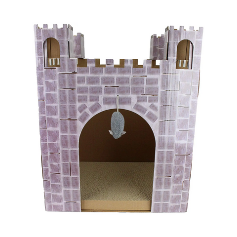 Midlee Castle Cat Scratcher House