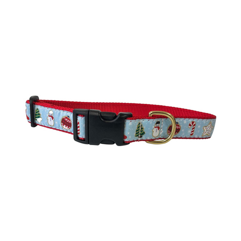 Midlee Christmas Sugar Cookie Dog Collar- Made in The USA