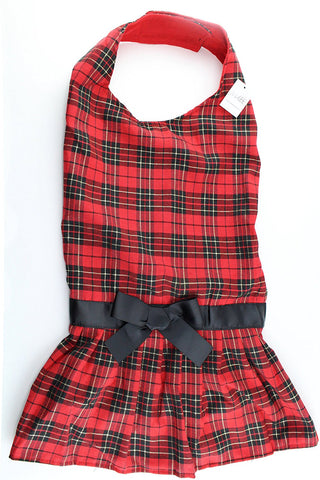 Midlee Tartan Plaid Big Dog Dress (XXX-Large)