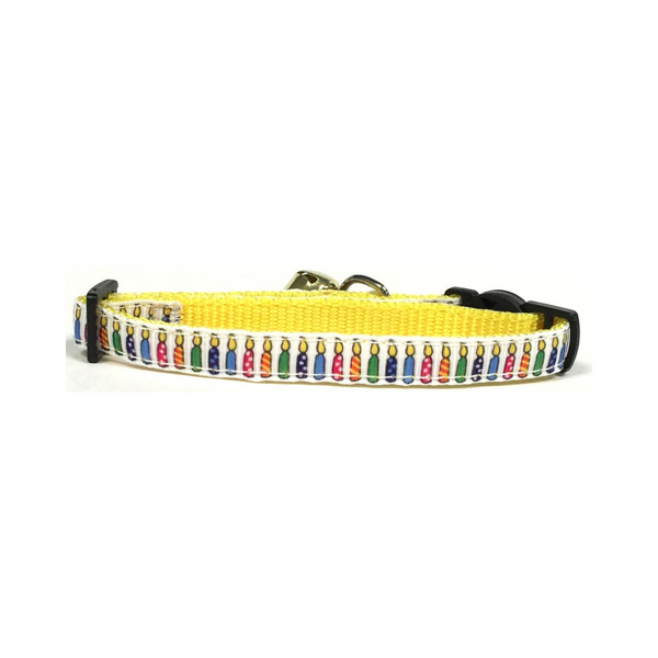 Midlee Birthday Cat Collar with Safety Buckle