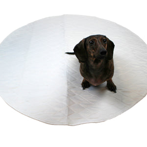 """Midlee Washable Whelping & Pee Pad for Dogs 36"""" Round 3-Pack"""