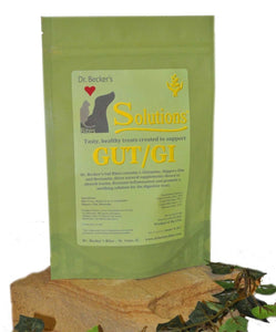 Dr. Becker's Natural Treats for Dogs, Digestive System, GI/Gut Solution Bites