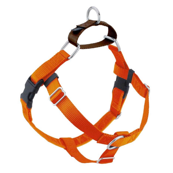 "Freedom No-Pull Harness ONLY, Medium 1"" Rust Orange"