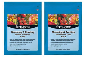 Fertilome 11771 Blooming and Rooting Soluble Plant Food (2 Pack of 1.5 lb)
