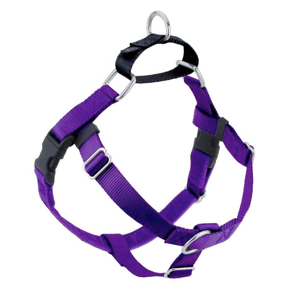 2 Hounds Design Freedom No-Pull Nylon Dog Harness Only, Medium, Purple