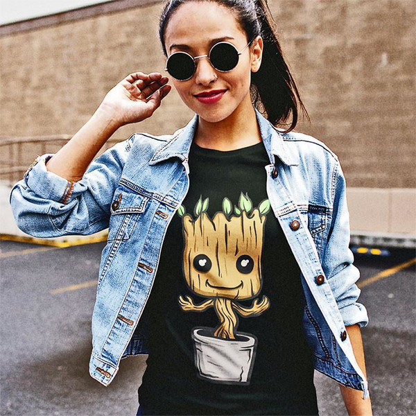 Cute Baby Groot T-Shirt