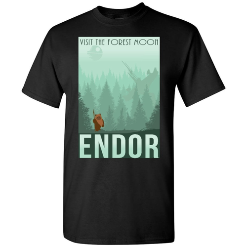Star Wars Men's and Youth Endor Poster Tee