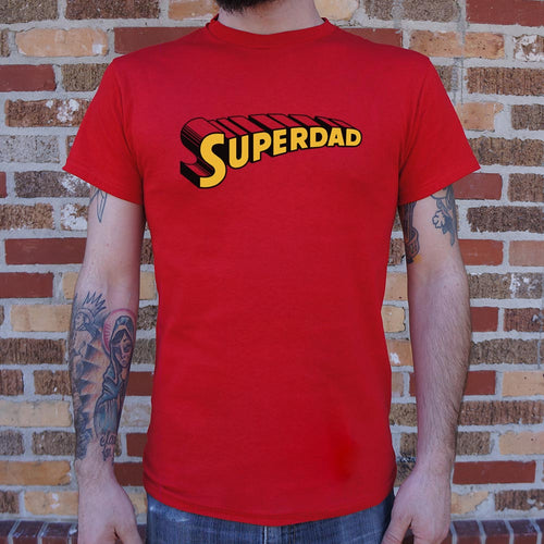 Mens Superdad T-Shirt