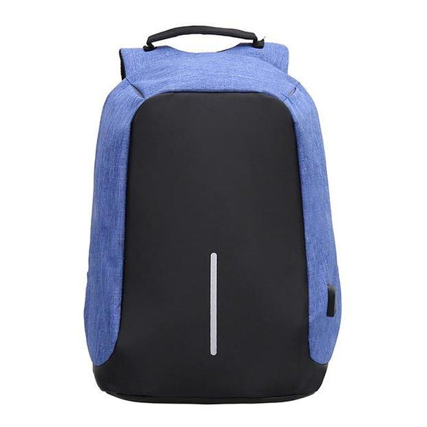Anti Theft Laptop Notebook Backpack Bag Travel Bag With External USB Charging Port 110112