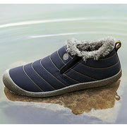 Men's Water-resistant Casual Cotton Snow Boots