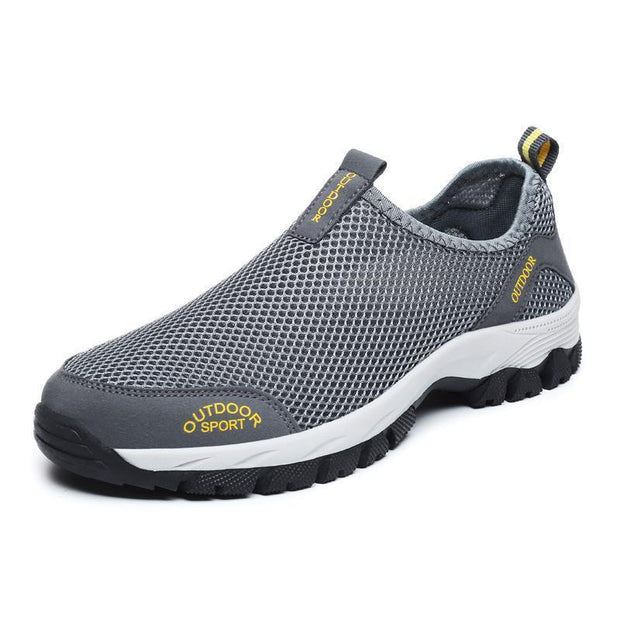 Men shoes outdoor leisure breathable net cloth climbing back to the river water shoes 118081