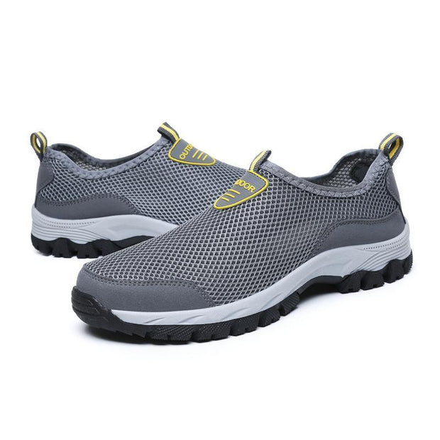 Men's Outdoor Mesh Hiking Breathable Barefoot Shoes