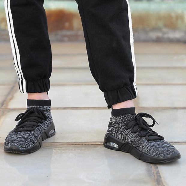 Men's Air Cushion Flying Woven Sock Sneakers
