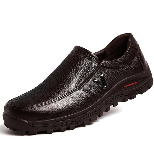 Men's Genuine Leather Casual Business Shoes