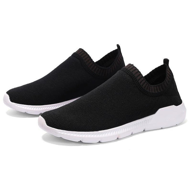 Men's Knit Woven Breathable Elastic Sneakers