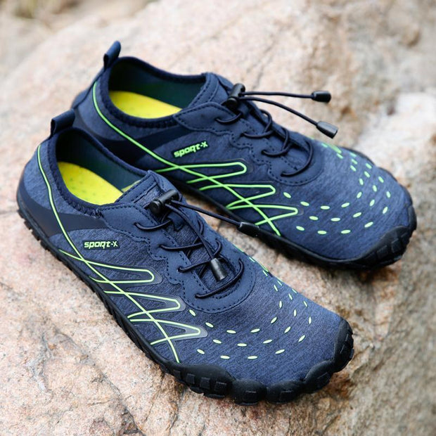 Men's Casual Shoes Breathable Lace Climbing Running Shoes Light Water Shoes  123871