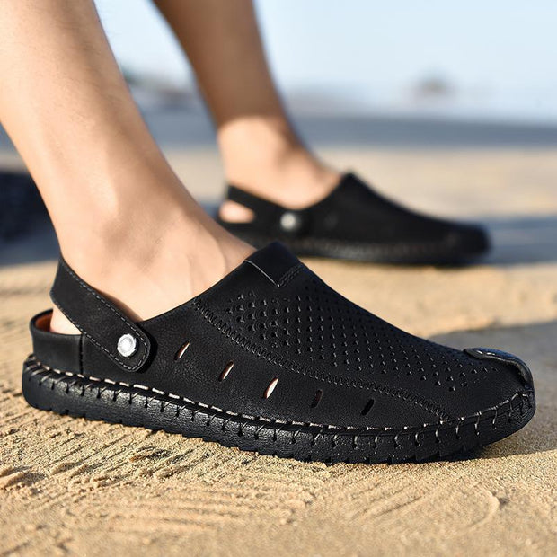 Men's casual trend outdoor sports beach breathable large size sandals 126982