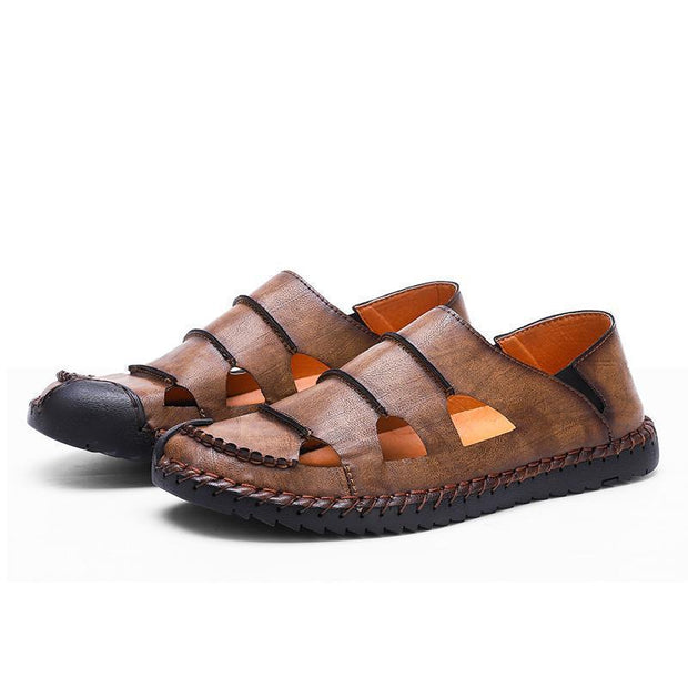 Men's Handmade Leisure Outdoor Breathable Sandals