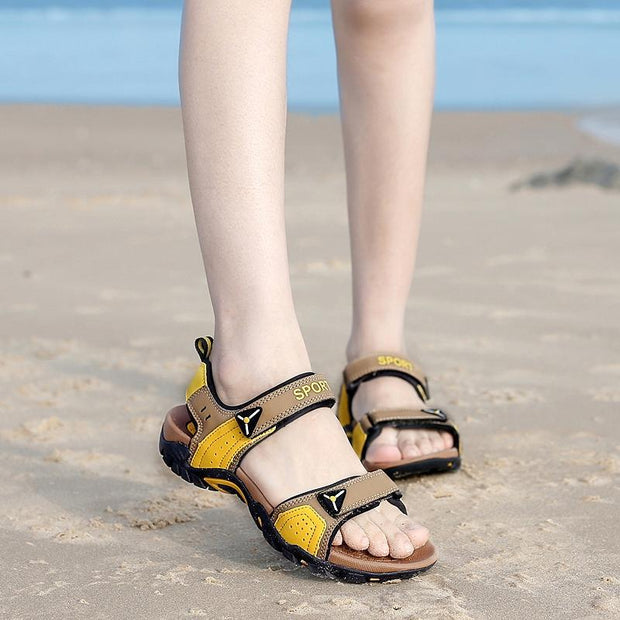 Men's Summer Velcro Non-slip Beach Sandals