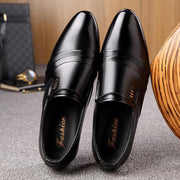 Men's fashion pointed dress shoes