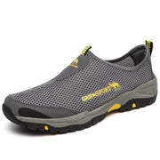 135867 Men's Outdoor Mesh Sneakers Breathable Casual Hiking Shoes Walking Shoes