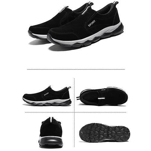 Men's Non-Slip ultra-Light Middle-Aged Sports Shoes Soft Bottom Old Walking Shoes