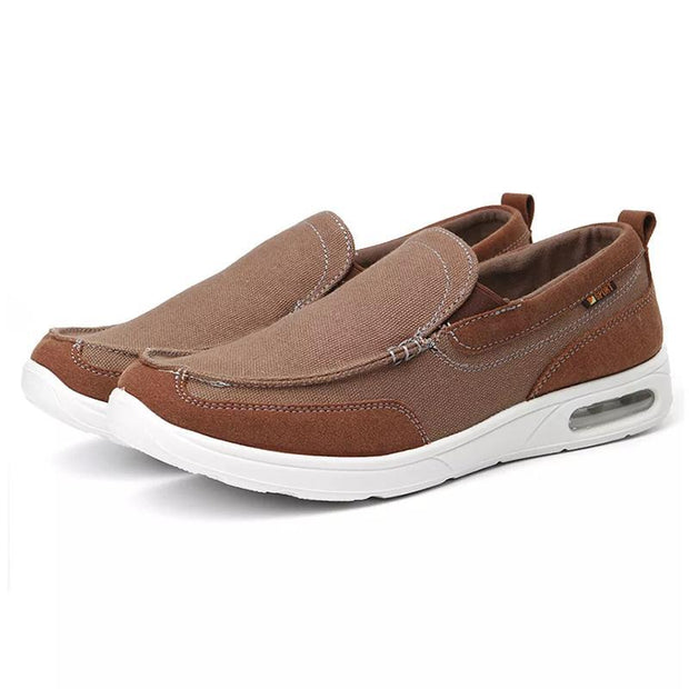 Men Canvas Soft Sole Lightweight Casual Walking Flats