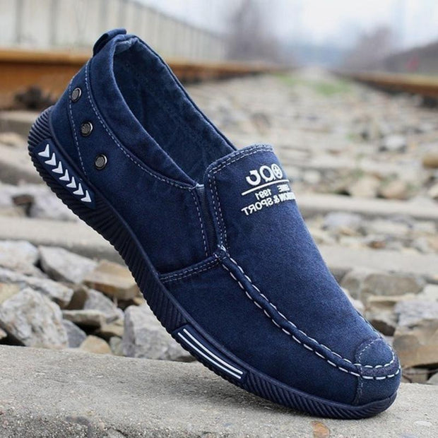 Men's Canvas Casual Lightweight Flat Shoes