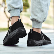 Men's Suede Mesh Breathable Lightweight Wear-Resistant Non-Slip Sneakers