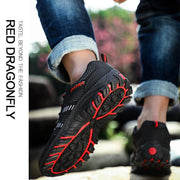 Men's Large Size Sports Wind Casual Shoes New Fashion Fly Woven Mesh Shoes