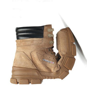 Men's Tooling Men's Boots Korean Version Of The Outdoor Warm Cotton Boots