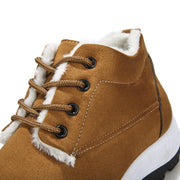 Men's New Fashion Wild Thickening Plus Velvet Warm Hiking Shoes