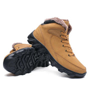 Men's winter plus velvet outdoor climbing cotton shoes