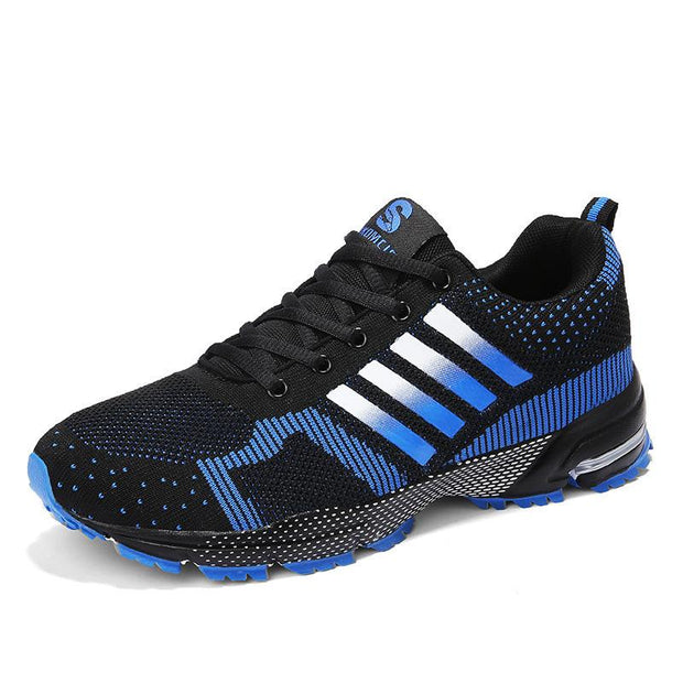 Men's light breathable marathon running sports casual shoes