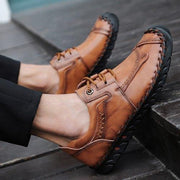 Men's Casual Fashion Daily Hand Stitching Lace-up Shoes