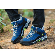 Men's  outdoor climbing non-slip thick-soled walking shoes