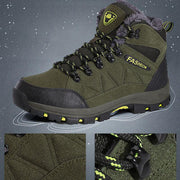 Men Camping Hiking Shoes Plus Velvet Outdoor Large Size Shoes