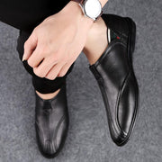 139269 Genuine Leather Men Shoes Waterproof Casual Loafers Breathable Flats Shoes Fashion Men's Driving Footwear Big Sizes