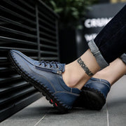 Men breathe freely and comfortable casual shoes zipper men's personality