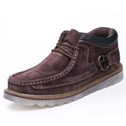 Men's outdoor equipment sewing recreational leather shoes
