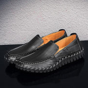 Men breathe freely set foot comfortable recreational leather shoes