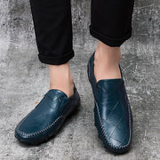 Men's comfortable breathable casual handmade leather shoes