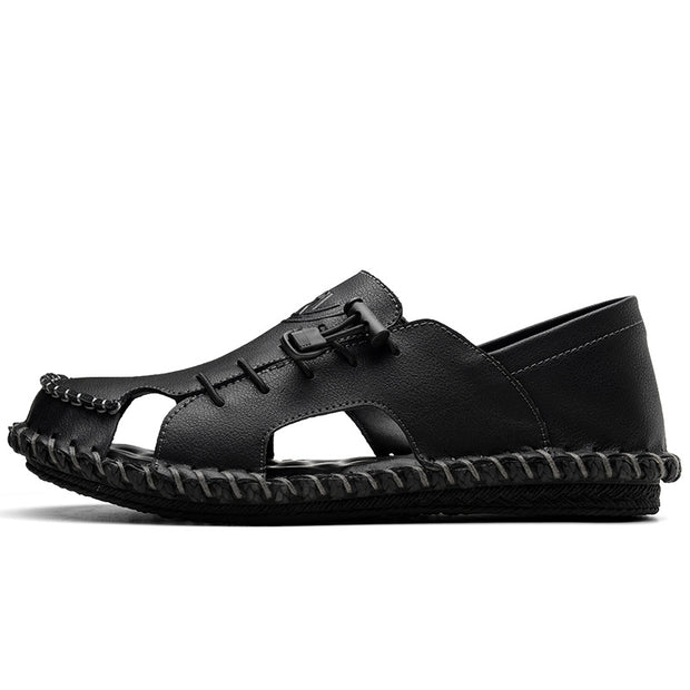 men's baotou sandals leather sports beach men's shoes breathable casual men's shoes