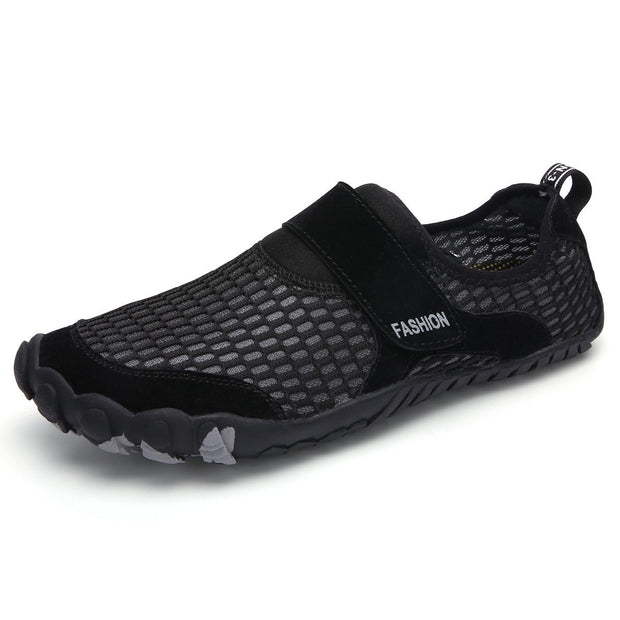 Men Mesh Quick Dry Non-Slip Boating Upstream Water Shoes