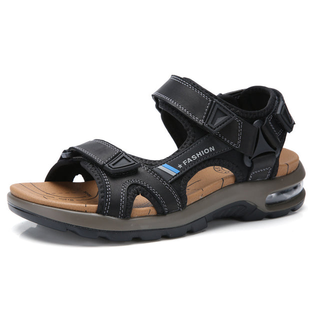 Men's sandals beach shoes outdoor air cushion wading shoes