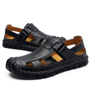 Men's baotou sandals hand-sewn large size casual shoes foreign trade