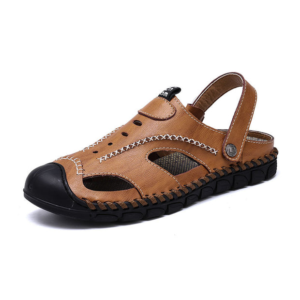 Men  Baotou sandals foreign trade large size breathable beach shoes outdoor