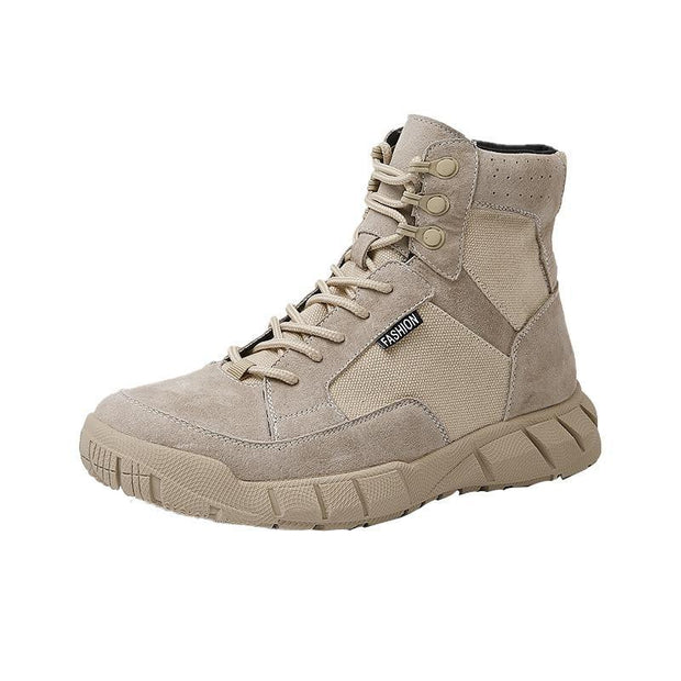 Men's Autumn And Winter Shoes New Outdoor Desert Tooling Military Boots