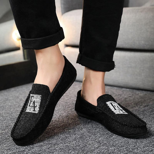 Men's Summer Ankle Beijing Flat Shoes