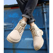 Men Lace-Up Front  Boot